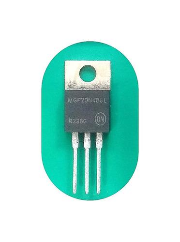 Imagem 1 de 1 de Kit C/ 2 Peças # Mgp20n40cl Transistor 20n40 Mgp20n40
