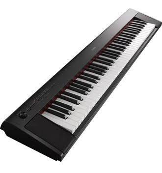 Teclado Piano Digital Yamaha Piaggero Np31 + Case Rígido