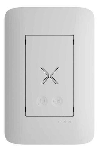 Campainha Eletrônica Touch C/fio Bivolt 28 Toques 4x2 Branca