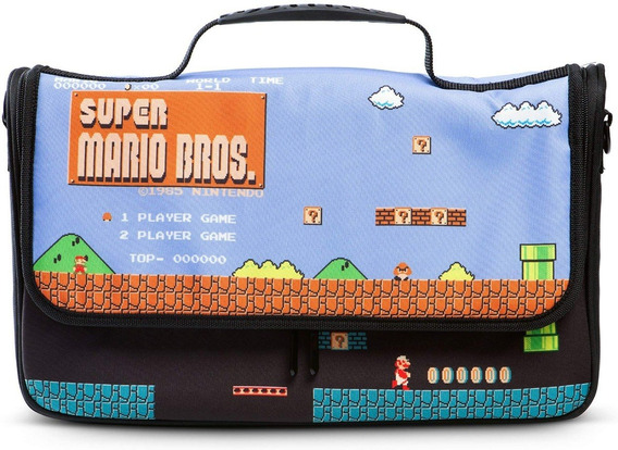 Case Bag Mochila Nintendo Switch Super Mario Bros Power A