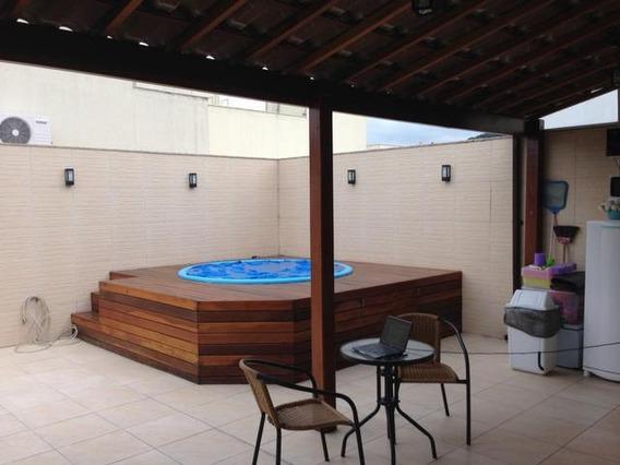 Cobertura Em Campo Grande, Rio De Janeiro/rj De 157m² 4 Quartos À Venda Por R$ 649.000,00 - Co195008