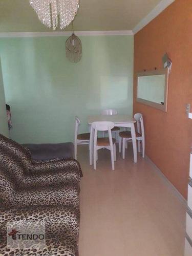 Imagem 1 de 30 de Imob01 - Apartamento 48 M² - Venda - 2 Dormitórios - Centro - Diadema/sp - Ap2877