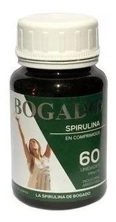 Spirulina Bogado 60 Comprimidos, 500mg Sin Tacc