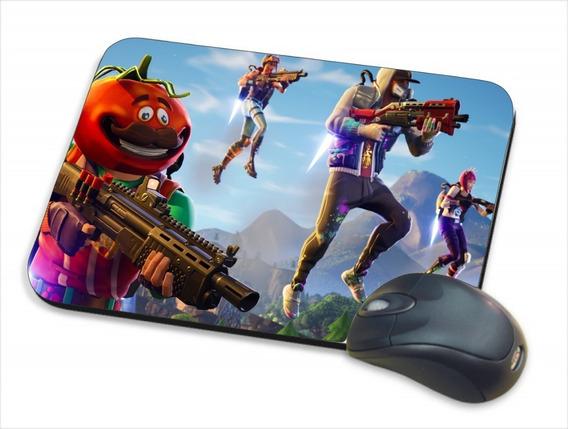 Mouse Pad Gamer Fortnite Personalizado - 20x17cm