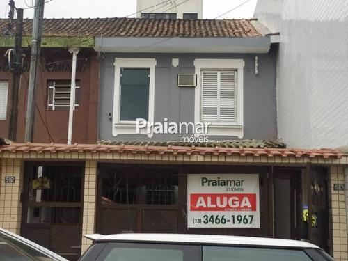 Casa Para Comercio | 100 M2 | Centro | São Vicente - 452-47