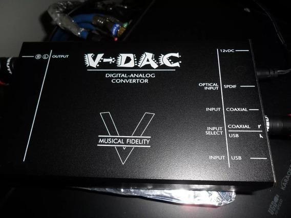 Dac Musical Fidelity V-dac Conversor Digital Analógico Usado