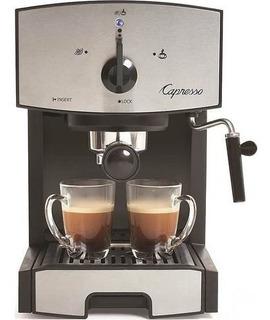 Máquina De Café Espresso Capresso Ec50 Acero Inoxidable