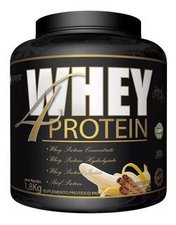 Whey 4 Protein 1,8kg Procorps Zero Açúcar Wpc Wph Wpi Beef