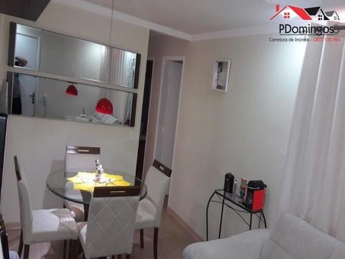 Imagem 1 de 23 de Apartamento À Venda Em Parque Bandeirantes I (nova Veneza) - Ap000033