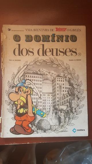 Livro Antigo Colecao Gibi Asterix O Domínio Dos Deuses