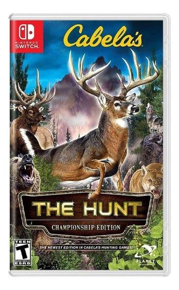 Cabelas The Hunt Championship Edition Switch Mídia Física