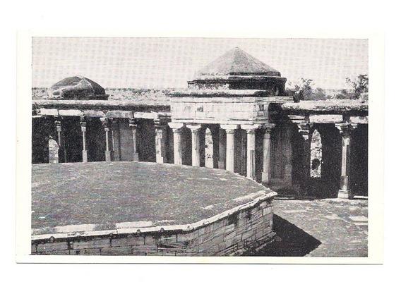 Antigua Postal Foto Delhi Tumba Del Sultan Gari