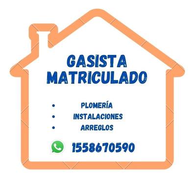 Gasista Matriculado, Plomero