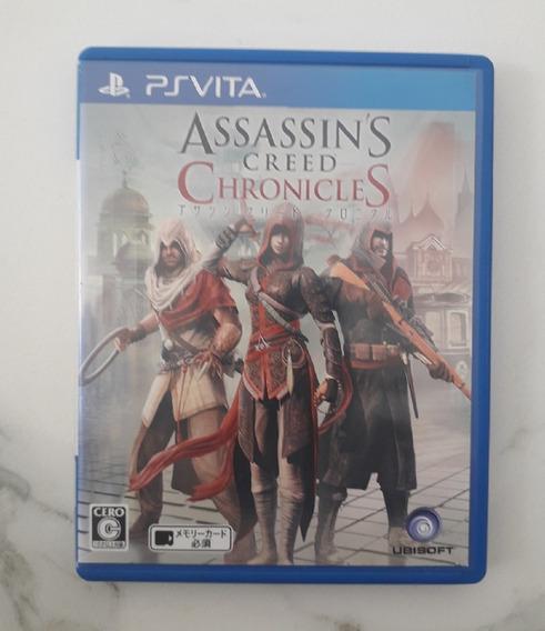 Jogo Psvita - Assassins Creed Chronicles - Ps Vita - Usado