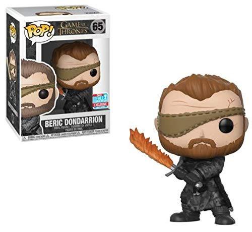 Fuinko Pop! Game Of Thrones - Beric Dondarrion N.65 Exc Nycc