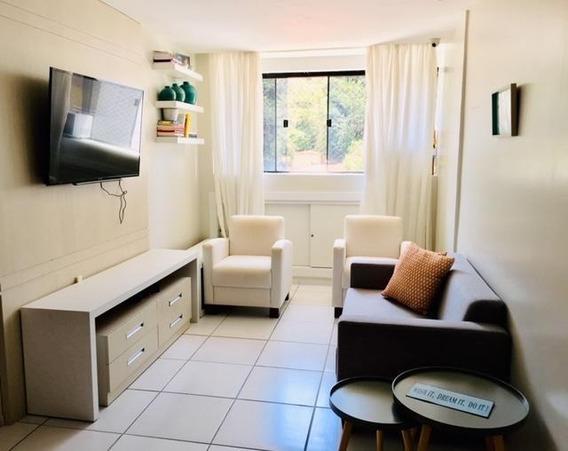 Apartamento Em Tirol, Natal/rn De 57m² 2 Quartos Para Locação R$ 1.800,00/mes - Ap332705