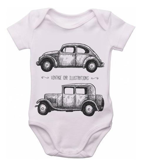 Bodie Body Infantil Roupa Bebê Nene Carro Ford Antigo Fusca