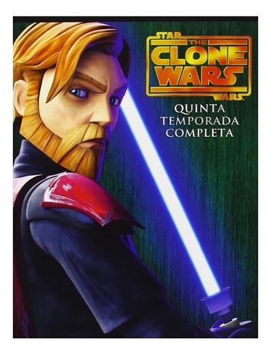 Imagen 1 de 2 de Star Wars Clone Wars Temporada 5 Dvd Serie Nuevo