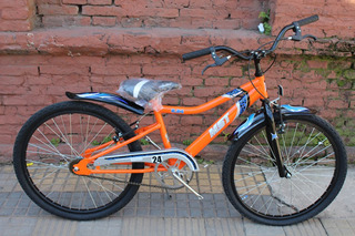 Bicicleta Musetta Viper Rodado 24 Varon Nene Planet Cycle