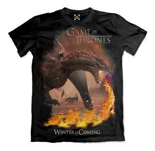 Camiseta Game Of Thrones Daenerys Targaryen Winter Is Coming