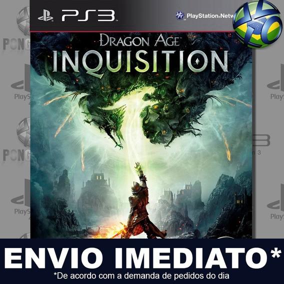Dragon Age Inquisition Ps3 Psn Jogo Romoção Pronta Entrega