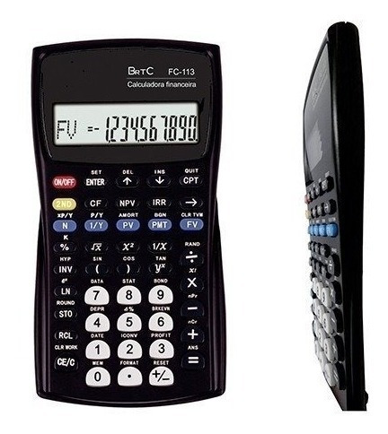 Calculadora Financeira Brtc Fc-113 Original