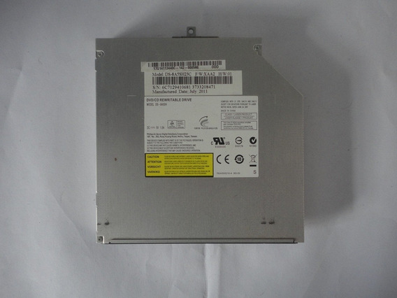 Gravador Dvd S/ Tampa Frontal Notebook Asus K43u