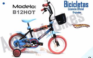 Bicicleta Infantil Rodado 12 Hotwheel-original