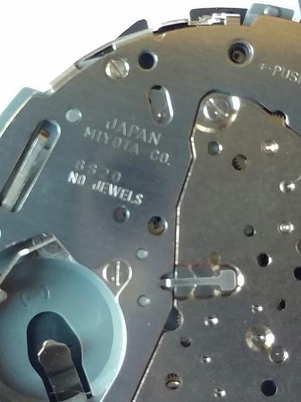 Mecanismo Miyota 6s20 Japan