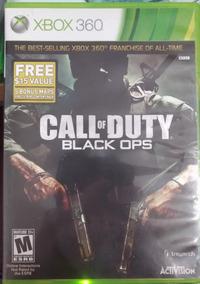 Call Of Duty Black Ops Xbox 360 One Original Mídia Física