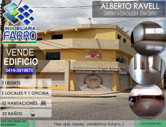 Venta De Edificio En La Calle Alberto Ravell Ve01-0030sc-ro