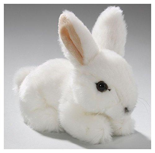 Conejo, Conejito, Sentado, Blanco, 6.5 Pulgadas, 17cm, Felpa