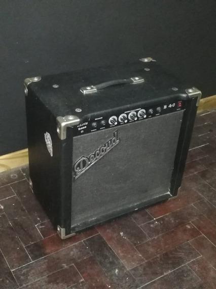 Amplificador Decoud Para Bajos Series B40 40wts