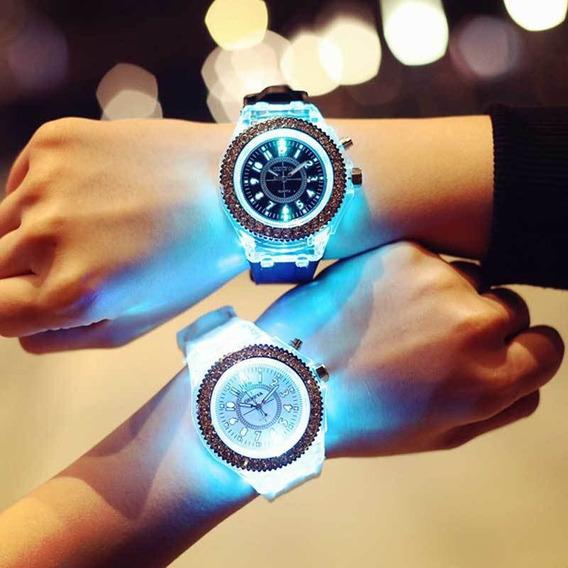 Relógio Led Luminoso Shmik