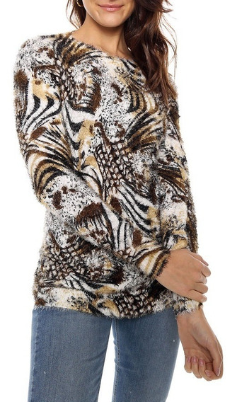 Sweater Pelo De Mono Talle Unico Nano S108