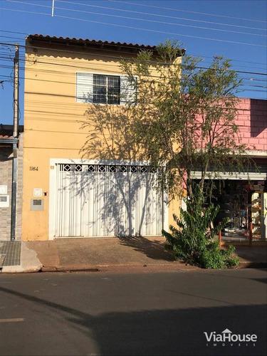 Sobrado Com 3 Dormitórios À Venda, 125 M² Por R$ 205.000,00 - Parque São Sebastião - Ribeirão Preto/sp - So0809