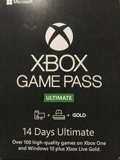 Xbox Gamepass Ultimate 14 Dias -one-global - 10% Desc 2da Un