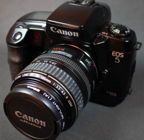 Câmera Fotográfica Analógica Canon Eos5