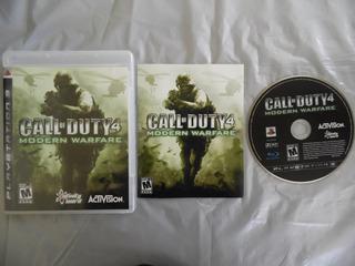 Call Of Duty 4 Modern Warfare De Ps3