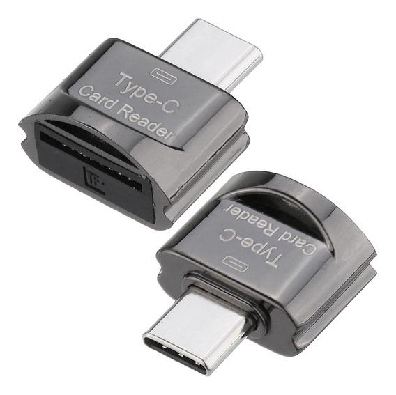 Portátil Metal Mini Type-c Cartão Tf Cartão De Memória Flash