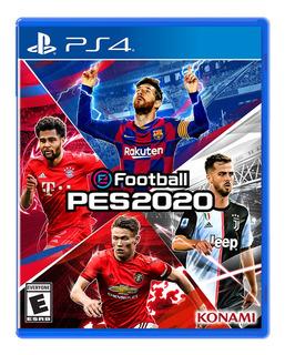 Juego Ps4 Efootball Pes 2020 - G0005808