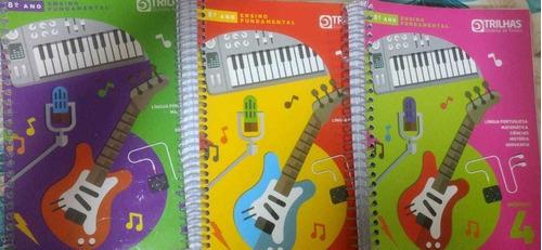 Kit Trilhas Sistema De Ensino, 8° Ano Completo