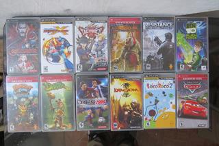 Juegos Playstation Psp Castlevania Megaman Gow Pes Daxter