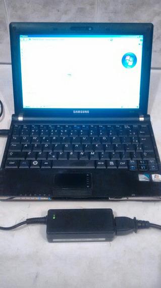 Netbook Samsung Nc10 Aton N280 Ht 1.6ghz 2gb 240gb Lindo