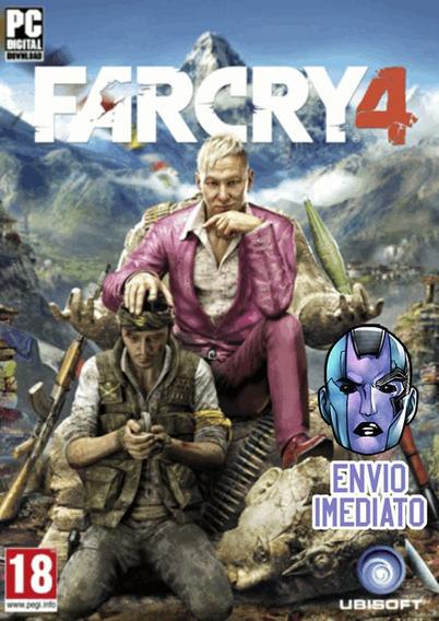 Far Cry 4 Pc Uplay Chave Envio Imediato
