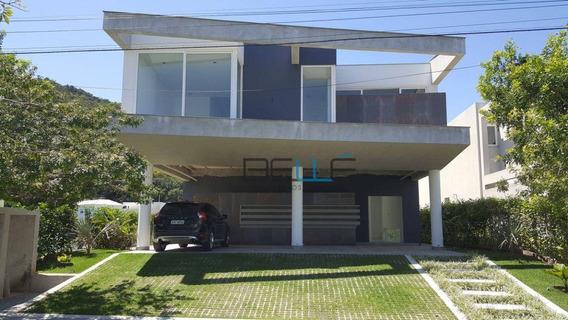 Casa Com 3 Dormitórios À Venda, 450 M² Por R$ 4.000.000 - Praia Do Estaleiro - Balneário Camboriú/sc - Ca0001