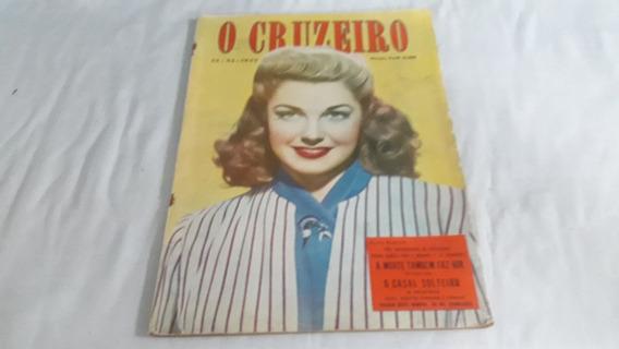 O Cruzeiro 15/11/47 Ex Santa De Coqueiros/ditador Trujillo