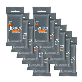 Jontex Preservativo Camisinha Marathon C/6 - 12 Packs