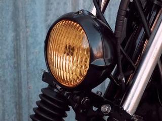 Farol Clássico Universal - Motos Harley Custom Cafe Bobber
