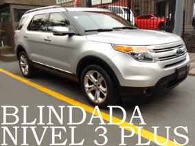 Explorer Limited 2011 Blindada Nivel 3+ Blindaje Blindados